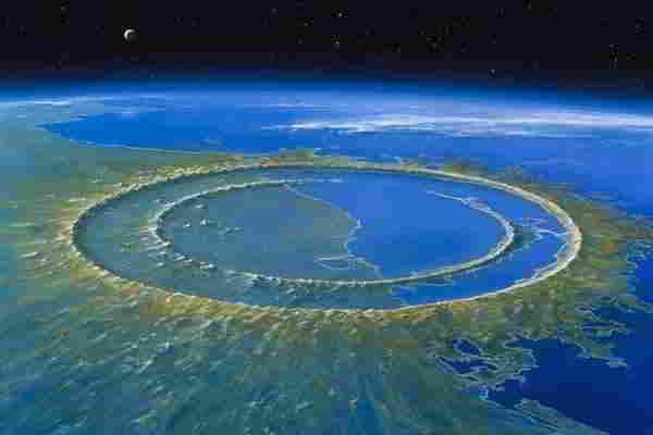 Самые большие ударные кратеры Земли