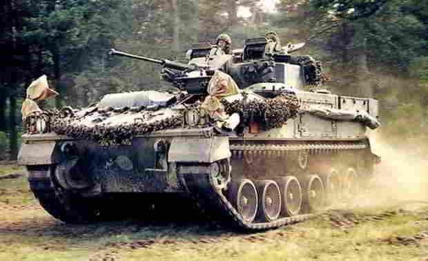Warrior - боевая машина пехоты Великобритании vs БМП-3