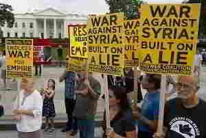 Удары по Сирии. У Обамы проблемы с общественным мнением
